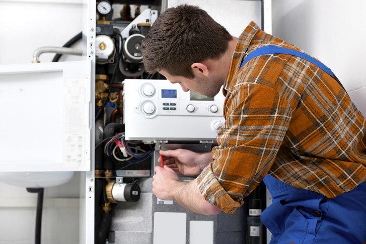 revizia la centrale termice pe gaz. Poza 19