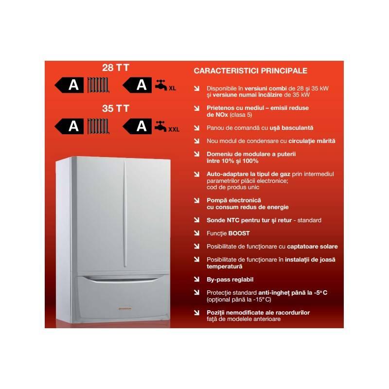 Poza Caracteristici  centrala termica in condensare Immergas Victrix MAIOR 35 TT 1 Erp 35 kW