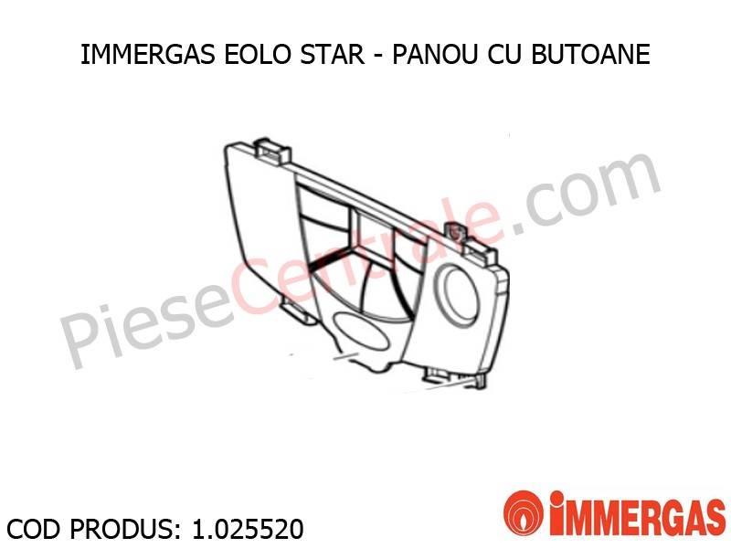 Poza Panou cu butoane centrala termica Immergas Eolo Star