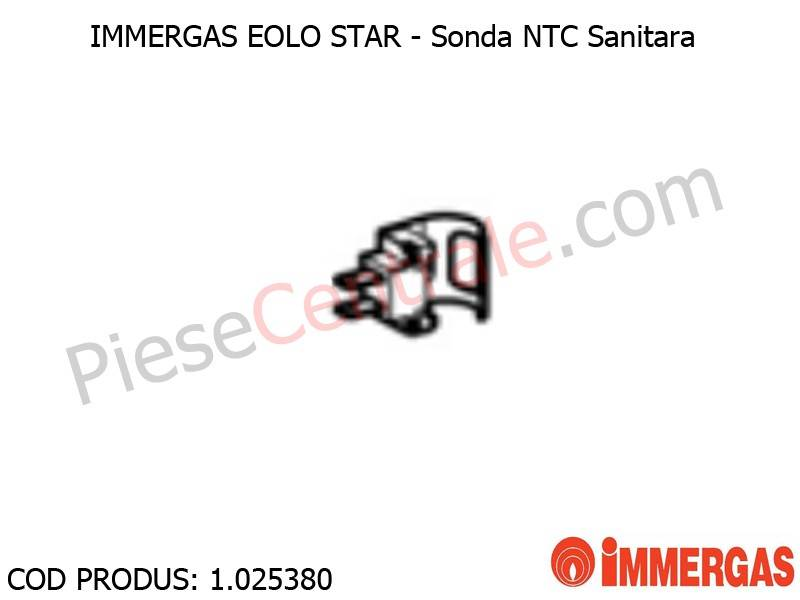 Poza Sonda NTC Sanitara centrala termica Immergas Eolo Star