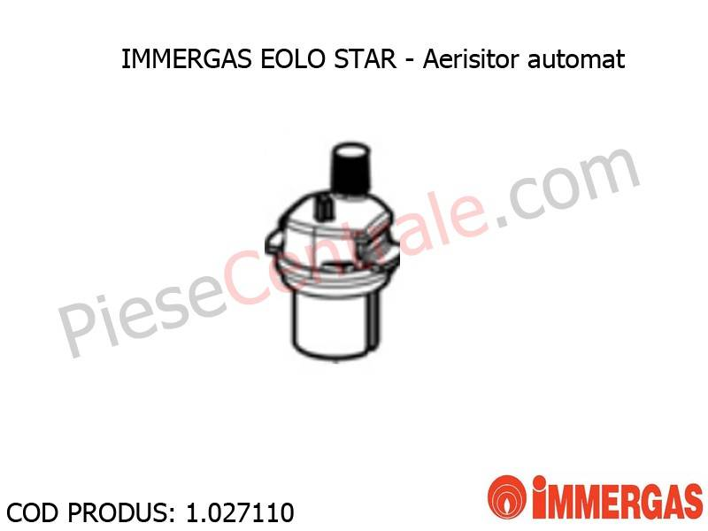 Poza Aerisitor automat centrala termica Immergas Eolo Star