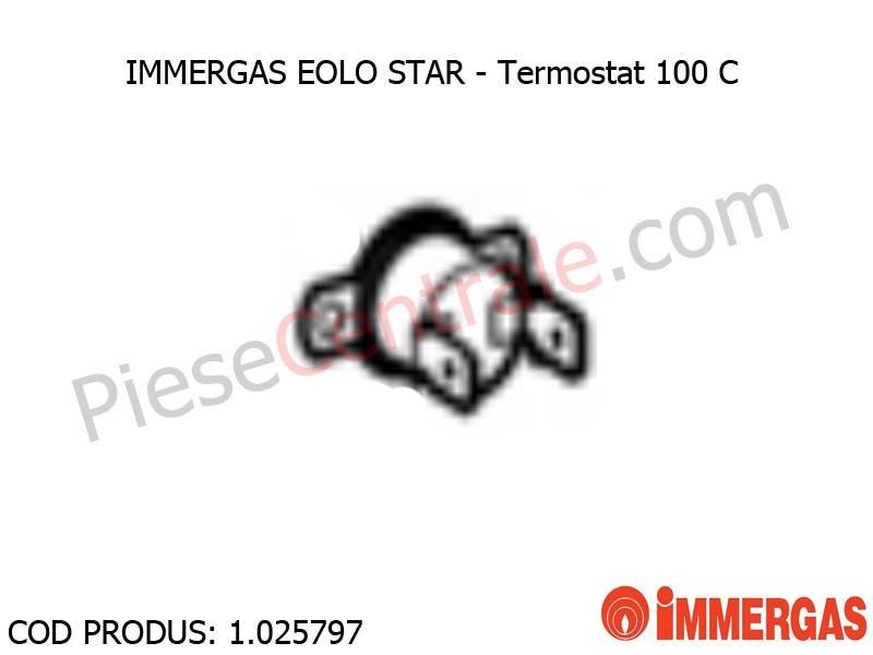 Poza Termostat 100 C centrala termica Immergas Eolo Star