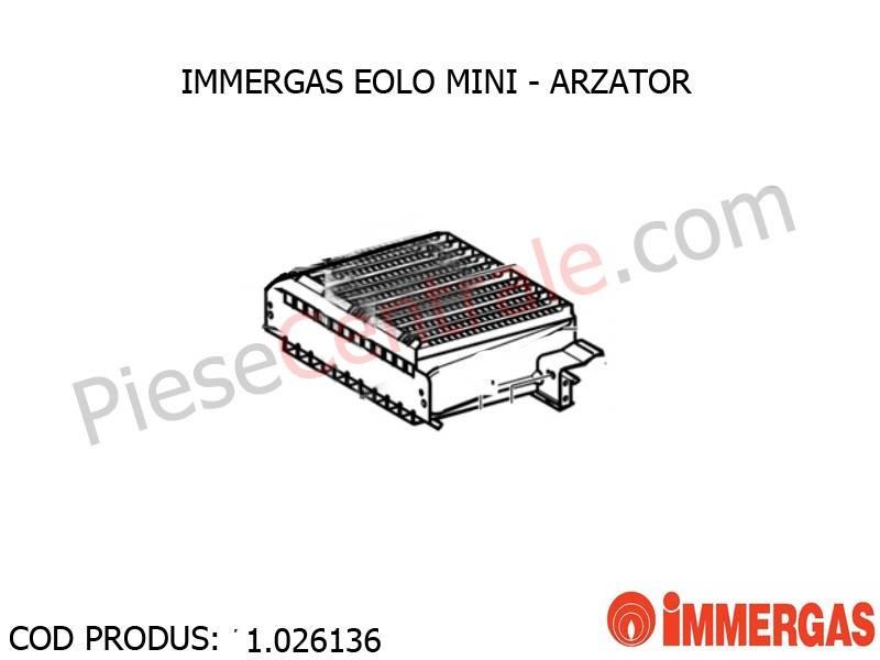 Poza Arzator centrala termica Immergas Eolo Mini