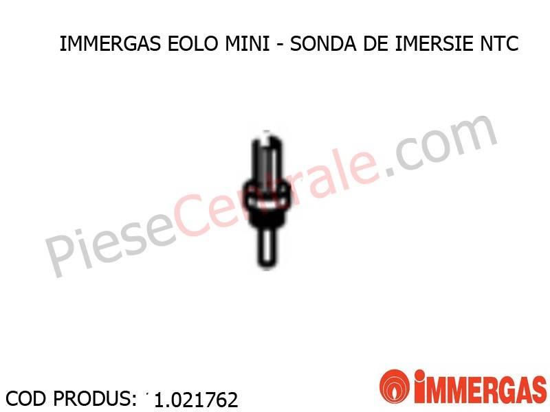 Poza Sonda de imersie NTC centrala termica Immergas Eolo Mini, Victrix Superior