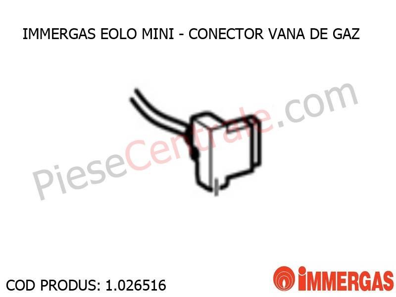 Poza Conector vana de gaz centrala termica Immergas Eolo Mini