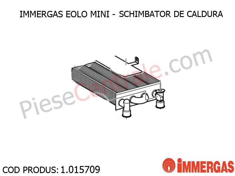 Schimbator De Caldura Centrala Termica Immergas Eolo Mini