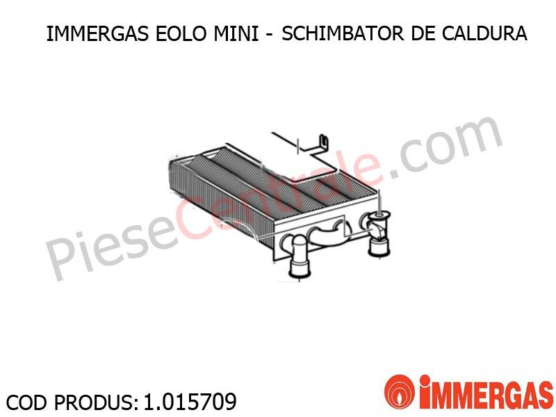 Poza Schimbator de caldura centrala termica Immergas Eolo Mini