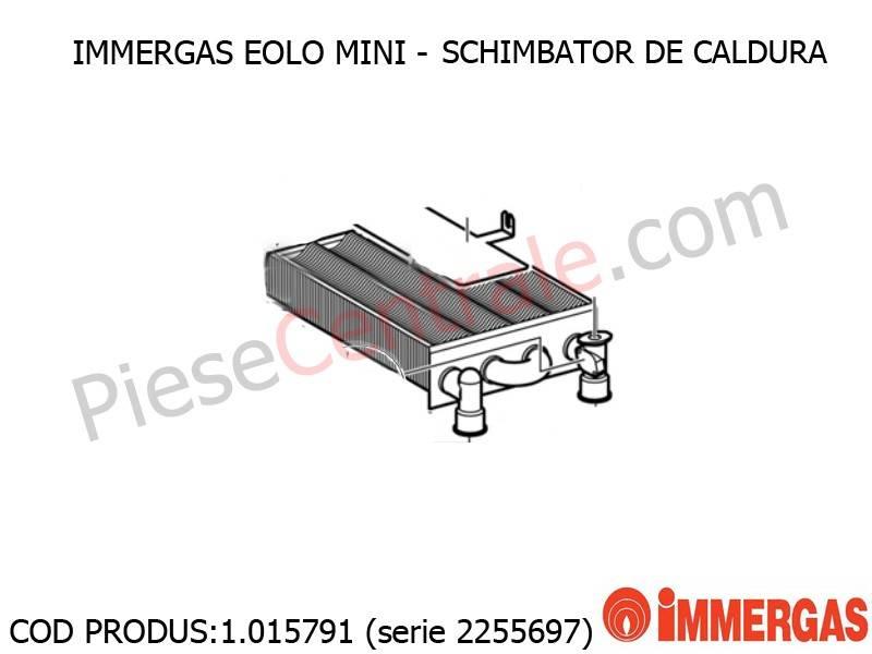 Poza Schimbator de caldura (2255697) centrala termica Immergas Eolo Mini