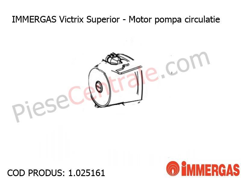 Poza Motor pompa circulatie centrala termica Immergas Victrix Superior