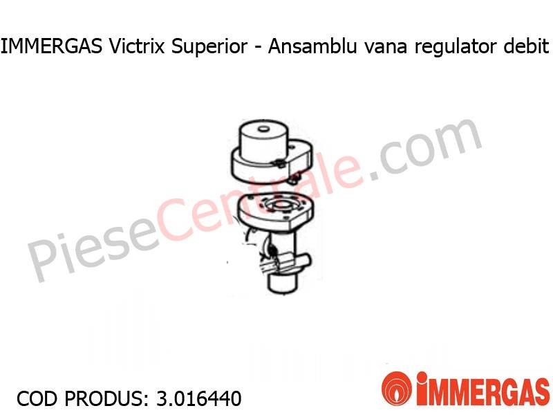 Poza Ansamblu vana regulator debit centrala termica Immergas Victrix Superior
