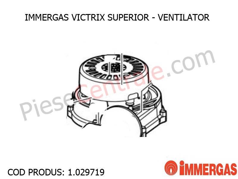 Poza Ventilator EBM RG 128 centrala termica Immergas Victrix Superior
