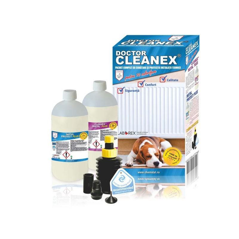 Poza Pachet curatare si protectie pentru instalatiile termice Doctor Cleanex. Poza 8044