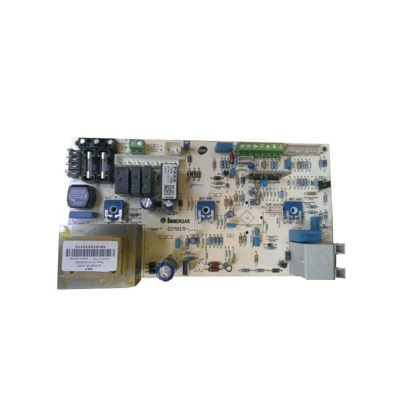 Poza Placa electronica centrala termica Immergas Eolo Mini 24 versiunea fara display cu manometru pe dreapta. Poza 8227