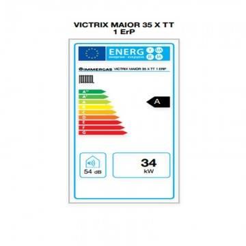 Poza Eticheta energetica centrala termica in condensare Immergas Victrix MAIOR 35 TT X 1 Erp 35 kW