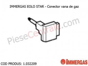 Poza Conector vana de gaz centrala termica Immergas Eolo Star
