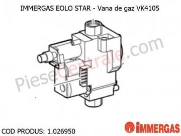Poza Vana de gaz centrala termica Immergas Eolo Star
