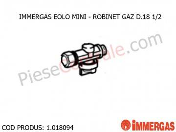 Poza Robinet gaz D.18-1/2 centrala termica Immergas Eolo Mini