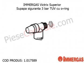 Poza Supapa siguranta 3 bar TUV cu o-ring centrala termica Immergas Victrix Superior