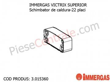 Poza Schimbator de caldura-22 placi centrala termica Immergas Victrix Superior